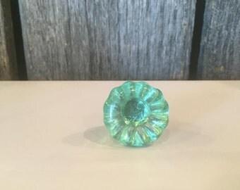 Seafoam Green Glass Knobs Bathroom Knobs Dresser Knobs Cabinet Knobs Kitchen Knobs Drawer Pulls Drawer Knobs Cabinet Pulls Dresser Pulls