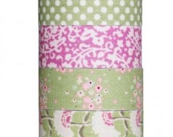 Tilda Apple Bloom Adhesive Fabric Tape - Set of 4 rolls