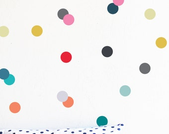 "Dreamy Time Palette 3"" Dots - WALL DECAL"