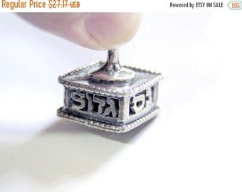 SALE Miniature Dreidel ,hanukkah,chanukah,metal dreidel