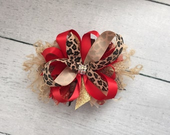 Red Leopard BOW