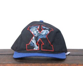Great Vintage 90's X Men Marvel Comics Snapback Hat Baseball Cap