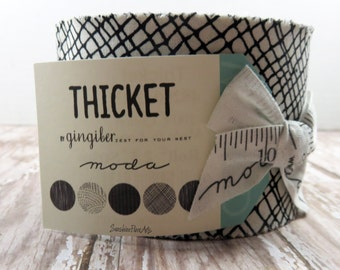 Thicket - Gingiber Zest For Your Nest - Moda - 20 Strips - Jr. Jelly Roll Neutral - 48200JJRN