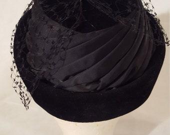 Black Original Shorlon Model Hat • Small or size 22