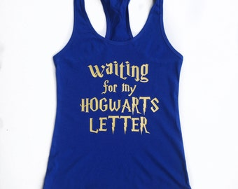Hogwarts Letter Tee/Tank for Adults