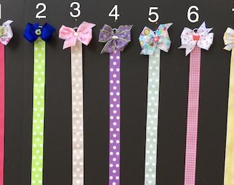 Hair bow holder  Hanging bow holder