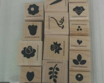Stampin Up Petite Posies Stamp Set (retired)