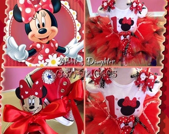 Minnie Mouse Tutu Set ONLY