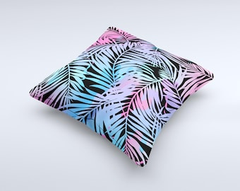 The Chromatic Safari ink-Fuzed Decorative Throw Pillow
