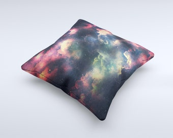 The Vintage Stormy Sky ink-Fuzed Decorative Throw Pillow