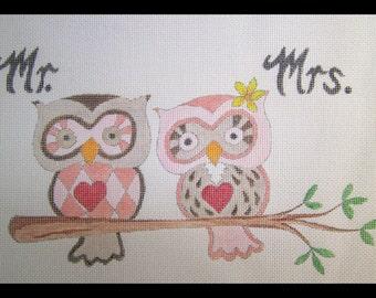 Wedding owls