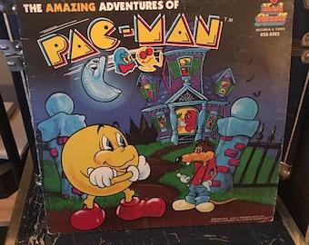 The Amazing Adventures of PAC-MAN Record Album Original 1980 Vinyl Record