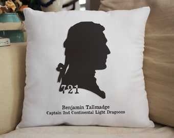 BENJAMIN Tallmadge 721 Throw Pillow Great Gift 14x14