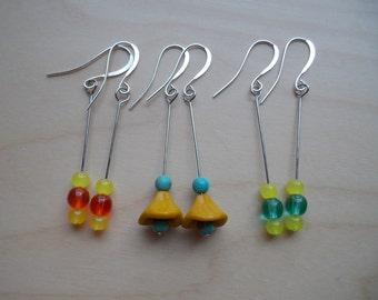 Drop Bead Earring