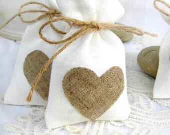 Favor bag  Drawstring /Gift bag/ Linen Bag