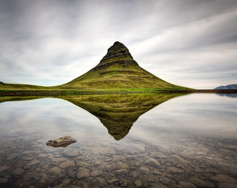 Icelandic Mountain Photograph - Kirkjufell