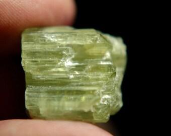 Large Watermelon Tourmaline crystal - Natural crystal - 72.59 ct - Green & Pink hues - Bicolor - Cathedral Termination - Pala, California