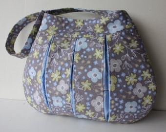 Mini Pleated Hobo Handbag