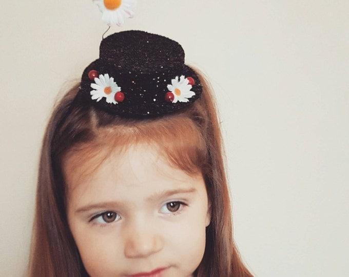 Mary Poppins Inspired Hat Headband