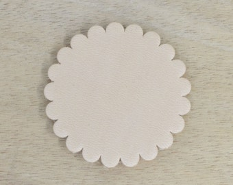 "12 pack - Thick Leather Concho Rosette 2"" Concho leathercraft -70064"