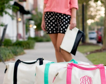 Sullivan weekender bag with Monogram