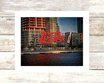 HUNTERS POINT-Queens NYC-Pepsi Cola-Historic Architecture-Fine Art Photograph-Limited Edition of 250