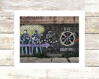NYC BRAVEST - New York City - Williamsburg Brooklyn - Fine Art Photograph - Limited Edition of 250