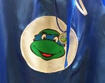 3 Piece NINJA TURTLES CAPE & Mask, Tmnt Teenage Mutant, Ninja Turtles, Satin capes, Turtles cape, ninja turtle, party favor