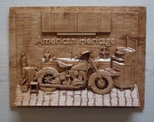 Motorcycle Art ~ American...