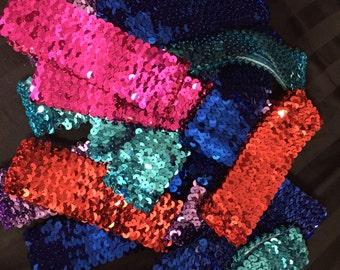 Sequin headband lot