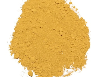 Yellow Oxide Pigment Powder for Paints, Ink, Stamp Pads and other Craft Projects