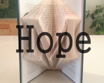 "Book Folding Pattern: ""Hope"" by DIYMarta"