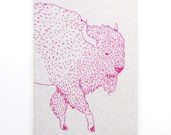Bison Notebook/Sketchbook A6