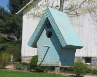 Blue Chickadee House