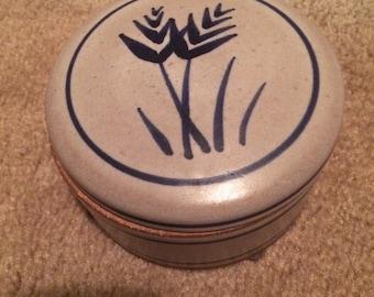 Lally ceramic pottery dish