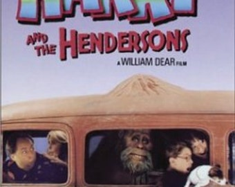 Harry and The Hendersons [VHS] (1987)