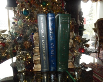 VINTAGE BOW BOOKENDS