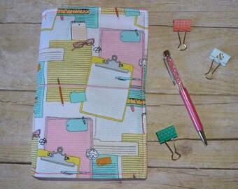 "JADori ""Clipboard"" Traveler's Notebook Fabric Fauxdori Dori"