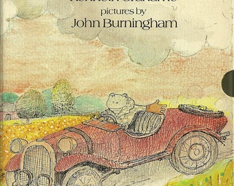 The Wind In The Willows Book - Kenneth Grahame - John Burningham - Including Slipcase - 1st Edition 1908 - 1983
