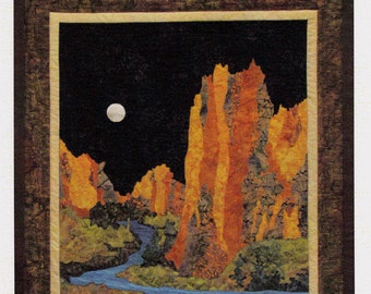 SMITH ROCKS  ~  Landscape Quilt/Wall Hanging   By:  June Jaeger