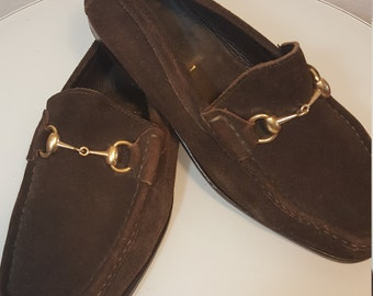 FREE  SHIPPING  Vintage Men Gucci Shoes