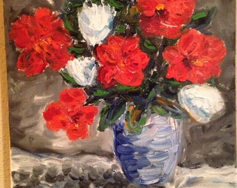 "Original Oil Painting - ""Poppies"""