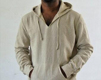Mens nehru collar short kurta shirt in linen for Linen shirts for mens in chennai