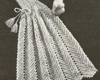 Crochet baby carrying cape vintage crochet pattern PDF
