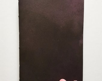 Black Hand-Dyed Notebook