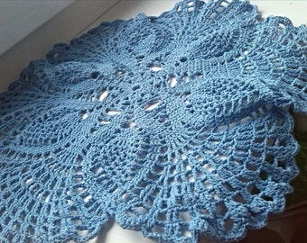 "Napkin ""Blue lace"""