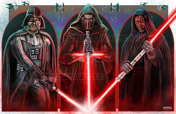 Lords of the Sith (Star Wars) 11X17