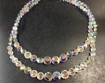 2 row crystal beads