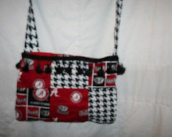 alabama patch work purse