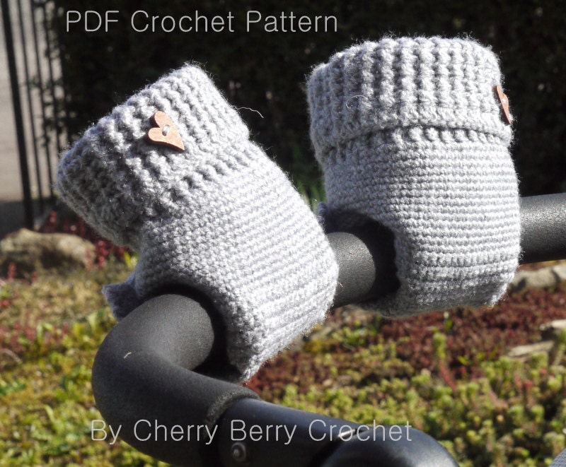 Free Crochet Pattern For Hand Muff : Stroller Hand Muff Crochet Pattern / Stroller Hand Warmer